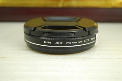 耐司 Nisi SLR PRO 0.7X 广角附加镜 58mm 口径 0.7倍 镜头增倍镜