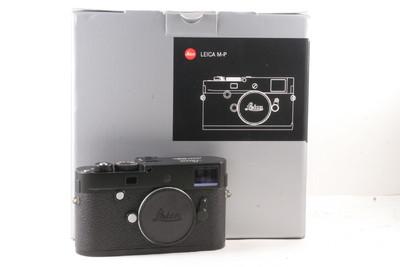 徕卡 M-P(Typ 240 )全画幅 旁轴数码相机 黑色版, (全套包装)