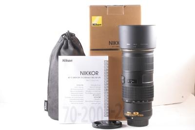95/尼康 AF-S 70-200mm f/4G ED VR 成色极新(全套包装)