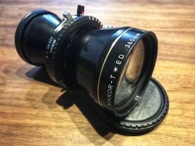 尼康 Nikkor T ED 360/8 大画幅长焦远射镜头 可覆盖5X7