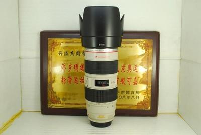 佳能 70-200 F2.8L IS 小白防抖 单反镜头 专业红圈恒圈 长焦人像