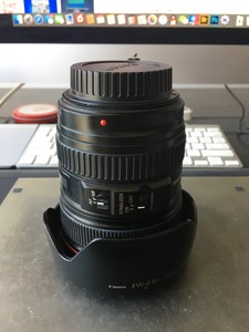 个人自用 佳能 EF 24-105mm f/4L IS USM 国行 箱说全