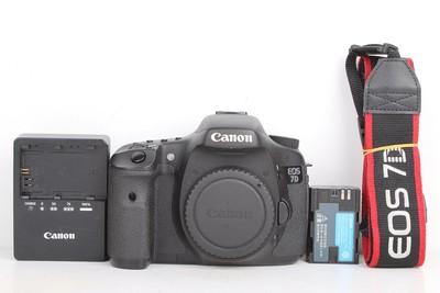 93新二手 Canon佳能 7D 单机 中端单反相机 600357京
