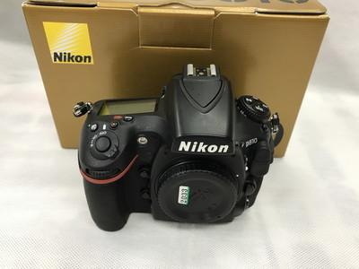 尼康D810 高端全画幅单反相机