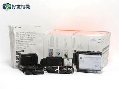 索尼/Sony FDR-X3000r 4K 运动相机带监控手表 *如新连盒*
