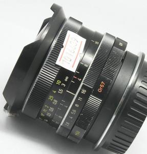 90新 CARL ZEISS 16/2.8 HFT 鱼眼 改佳能口(6639)★