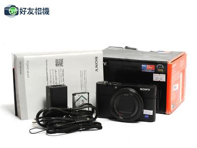 索尼/Sony Cybershot DSC RX100V黑卡5代 20.1MP*超美品连盒*