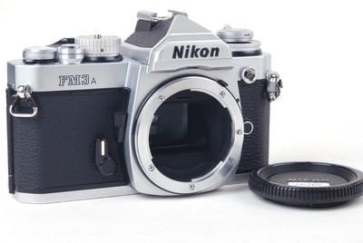 【美品】Nikon/尼康 FM3A 银色机身#jp20265