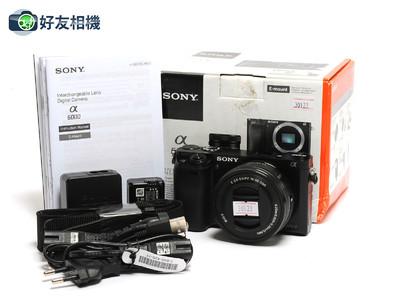 索尼/Sony Alpha A6000 24.3MP 微单连16-50mm OSS *如新连盒*