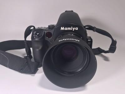 Mamiya玛米亚645DF+ 丽图Credo 60数码后背套机配5支镜头整体98新
