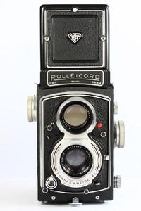 禄来 rolleicord VA 德产双反相机 120胶片 施耐德镜