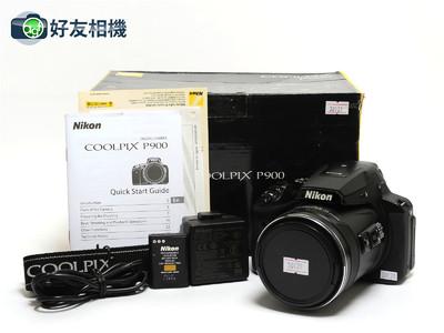 尼康 Coolpix P900相机 83倍长焦摄月高清数码*超美品连盒*