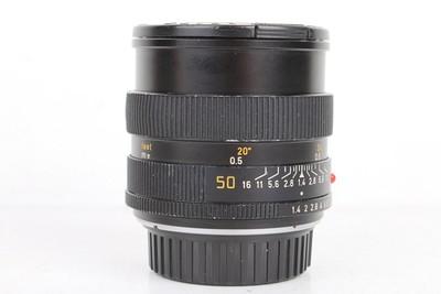 90新二手Leica徕卡 50/1.4 Summilux-R R口高价回收 077505京