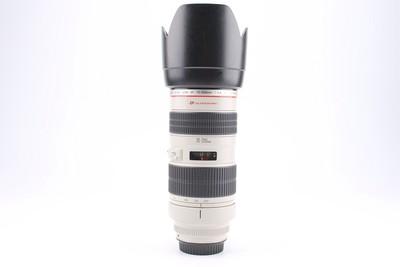 95新二手Canon佳能 70-200/2.8 L 小白变焦镜头回收 119514成