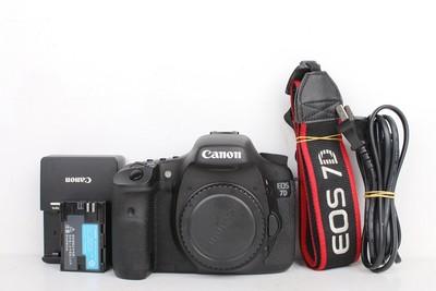 96新二手 Canon佳能 7D 单机 中端单反相机 回收 303304京