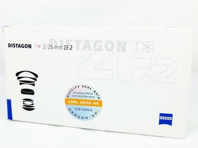 蔡司 Distagon T* 25/2 ZF.2