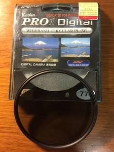 肯高 PRO 1D C-PL(W)圆振镜(77mm)