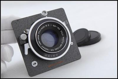 富士 FUJINON W S 150/6.3 4X5大画幅镜头 (骑士板)