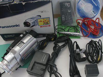 松下NV-GS400 MINI磁带摄像机 万元高端机 只售650元