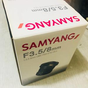 三阳 Samyang第二代8mm F3.5镜头(尼康卡口)