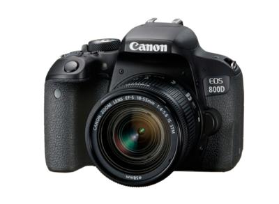 佳能EOS 800D 18-55+50mm1.8定焦-有赠品