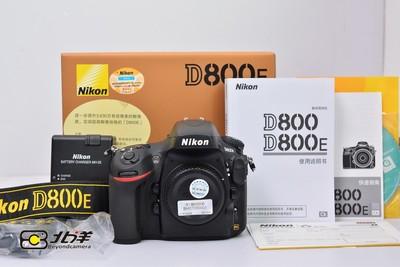 99新 尼康 D800E 大陆行货带包装(BH07030001)【已成交】