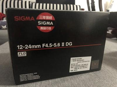 出适马 12-24mm f/4.5-5.6 EX DG HSM II超广角佳能口
