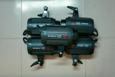转让闲置 95新金贝Spark 300 /400W 摄影/影视灯