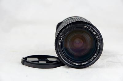 美能达MD 35-105 F3.5-4.5 带微距 近全新好成色
