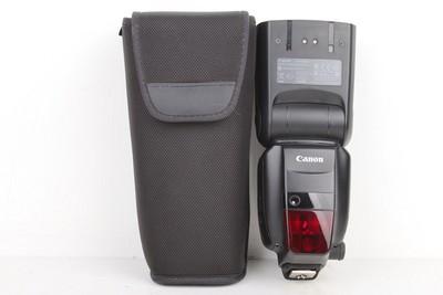 95新二手Canon佳能 600EX-RT 一代机顶闪光灯置换 108608京