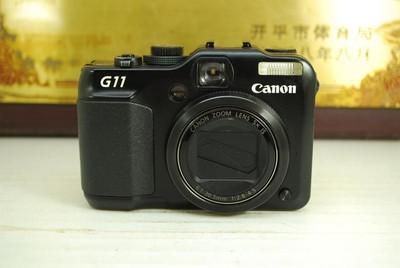 95新 佳能 PowerShot G11 卡片机 专业便携数码相机 旋转屏
