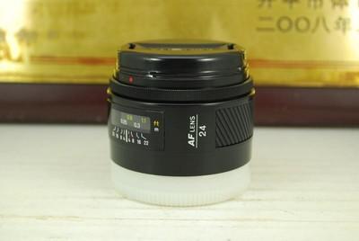97新 索尼a口 美能达 24mm F2.8 AF 单反镜头 广角定焦