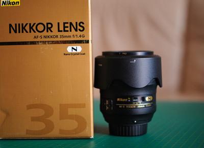 个人自用尼康 AF-S Nikkor 35mm f/1.4G镜头