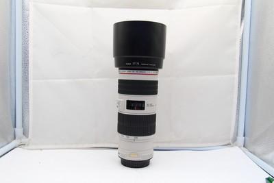 95新二手 Canon佳能 70-200/4 L IS USM小小白(SZ00873)深