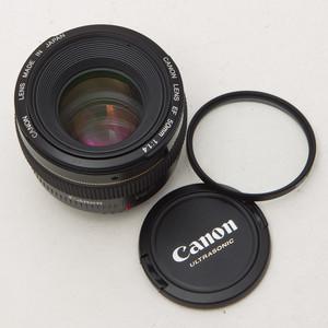 Canon佳能 EF 50mm f/1.4 USM 50/1.4 单反人像镜头 98新 NO:5864