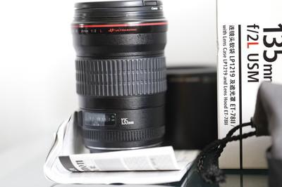 自用佳能 EF 135mm f/2L USM顶级人像镜头4100元低价出