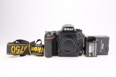 95新二手Nikon尼康 D750 单机 快门9000多(T000814)津