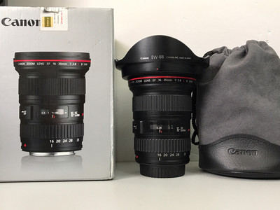 佳能EF16-35mm f/2.8L II USM 行货二代专业红圈镜头  福润相机行