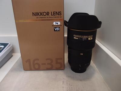 98新 尼康 AF-S尼克尔16-35mm f/4G ED VR广角镜头,成色新净!
