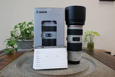 95新二手 Canon佳能 70-200/4 L IS USM小小白(W05329)武