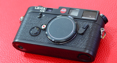 Leica/徕卡 M6 黑色早期Leitz 小盘机身 全套包装