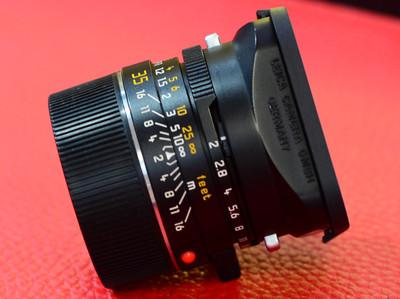 Leica 徕卡35 2 七枚玉M 35 2 七妹 德产方字版 散景之王