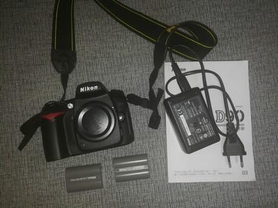 尼康 D90  2块原装电池&原装充电器  快门1119