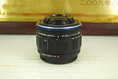 95新 奥林巴斯 14-42 F3.5-5.6 ED L 微单镜头 标配挂机