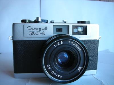 很新海鸥KJ--1金属制造旁轴相机,收藏使用