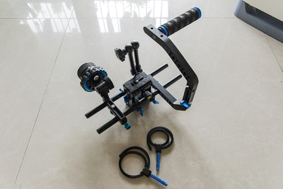 跟焦器+单C臂单反摄像套件