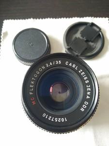 东德蔡司 carl zeiss jena  35mm f 2.4           m42后口