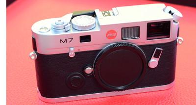 徕卡leica M7 0.72 银色机身 徕卡m7胶片机 经典旁轴胶卷机