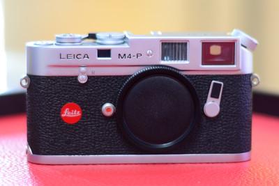 Leica徕卡 M4-P m4p 旁轴胶片相机机身 银色 经典 135胶卷机