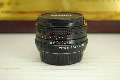 97新 PK口 凤凰 50mm F1.8 手动 单反镜头 大光圈定焦标头 人像